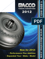 2012 Torque Converter Catalog | Audi | Transmission (Mechanics)