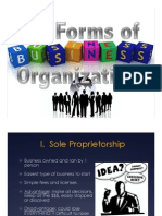 3 1 forms of business organization