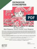TSR 9048 Dungeon Geomorphs