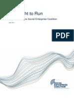 The Right to Run Guide Social Enterprise