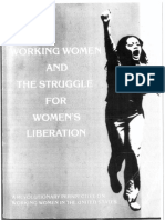 Working Women and the Struggle for Women's Liberation by Organization for Revolutionary Unity (1983)