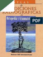 Atlas De Mediciones Radiográficas En Ortopedia Y Traumatología