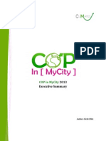 cop in mycity - executive summary 2013
