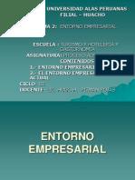 Tema II - Entorno Empresarial