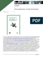 El sueño liberal en África Subsahariana de Itziar Ruiz-Giménez Arrieta