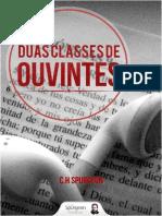 Livro Duas Classes de Ouvintes