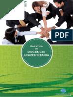 Maestria en Docencia Universitaria 20131
