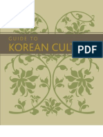 Guide to Korean Culture (English)