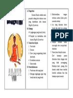 Leaflet Disentri