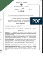 Ley 84-1996- CREG