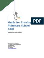 Establishing a Voluntary School Club in Your School