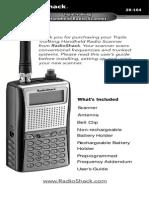 Scanner Pro 164 Radio Shack