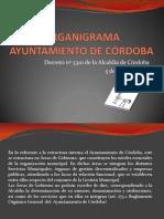 organigrama Ayuntamiento de Córdoba