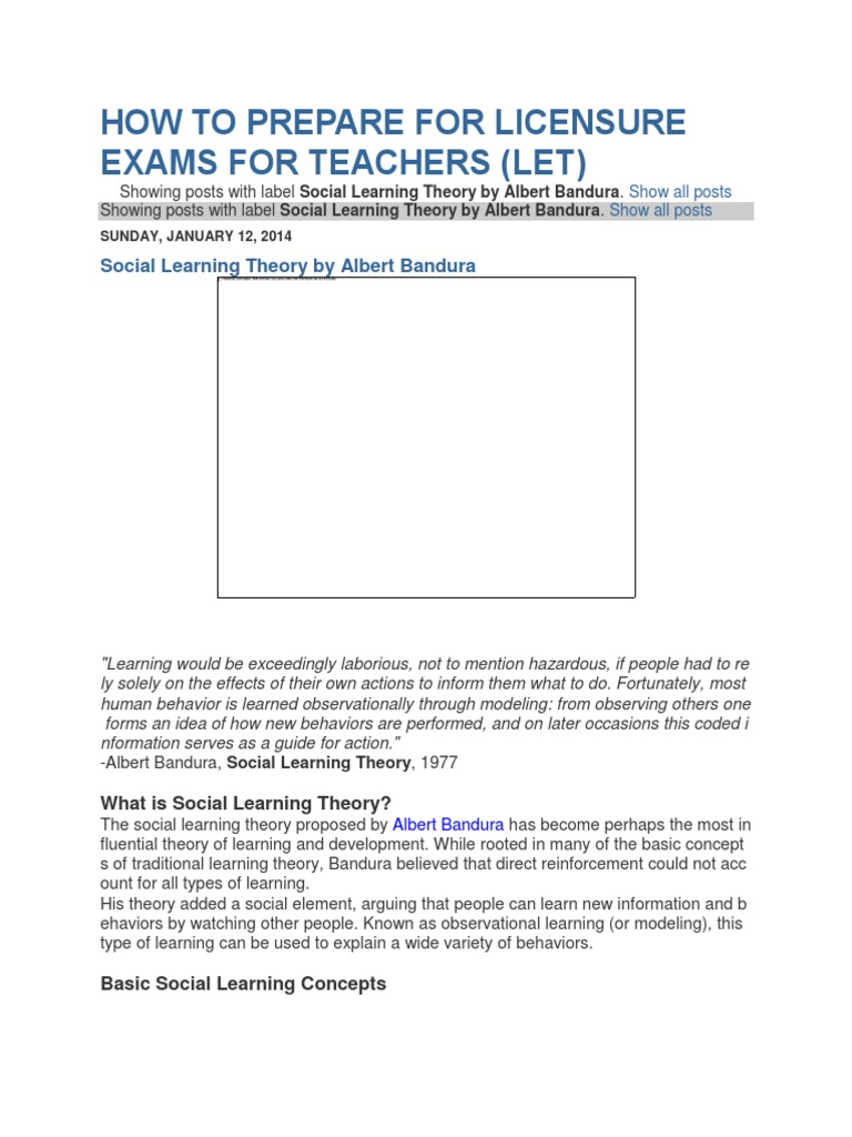 albert bandura social learning theory book