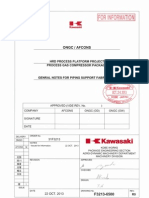 f3213-6500r0_general Notes for Piping Support Fabrication