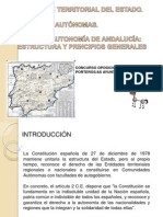 Organización Territorial del Estado I