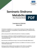 Sindrome Metabolico 2013