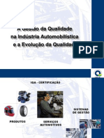 IQA e Qualidade Automotiva