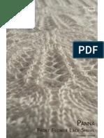 Panna Frost Flower Lace Shawl_HK V_2_0 Knitting Pattern