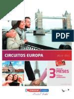 Circuitos Europa 2014-15