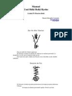 Manual Reiki Maestru