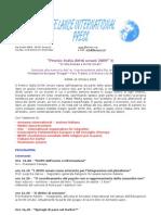Comunicato -Premio Italia Diritti Umani 2009