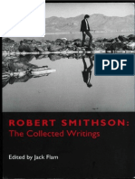 Robert Smithson CollectedWritings