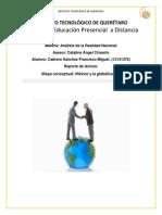Mapa conceptual México y la globalización
