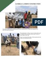 Sandbag Latrine Construction Guide