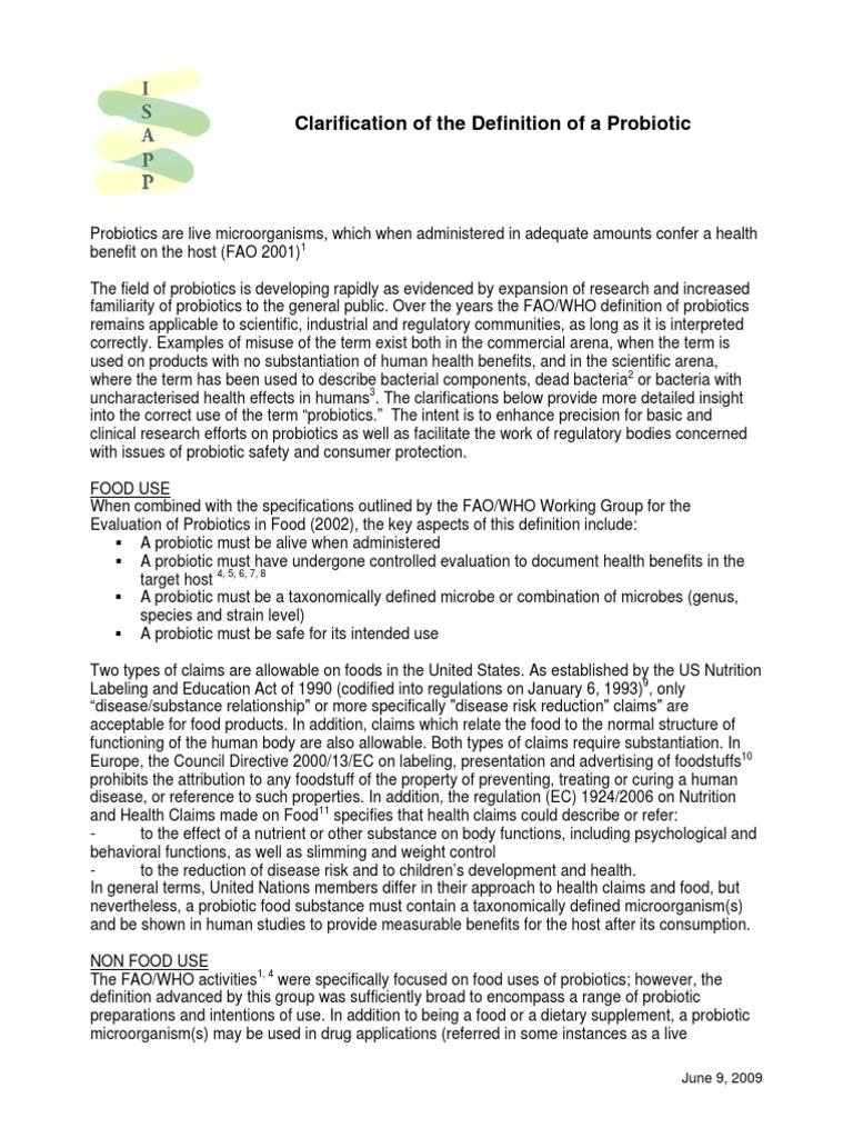 probiotic definition   probiotic   food & wine