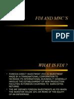 FDI AND MNC'S1