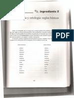 Ortografía y ortología- reglas básicas