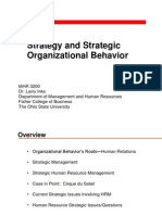 2 Strategy and Strategic Organizational Behavior
