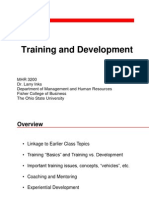13 Training and Development