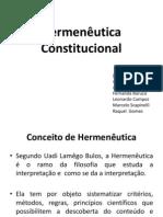Trabalho de Constitucional (Apresentacao)