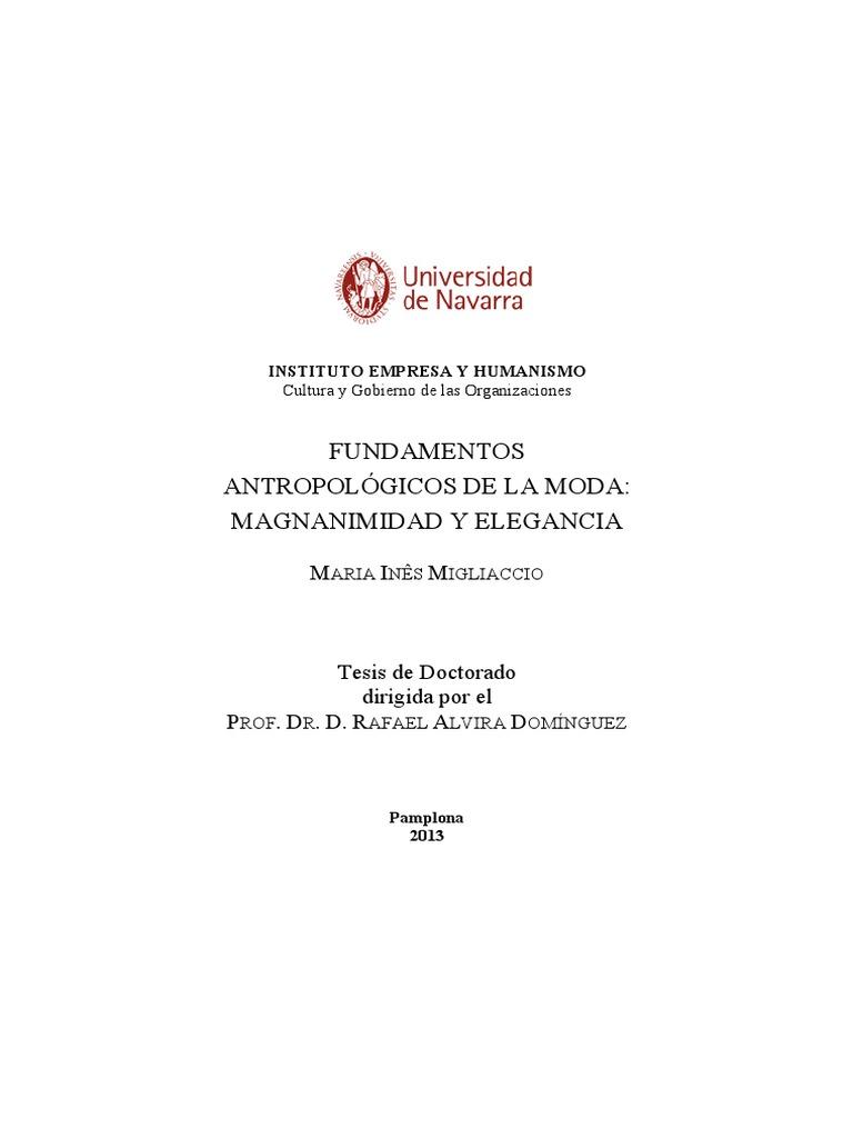 Fundamentos antropológicos de la moda 0a4530a8ff42