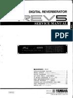 Yamaha REV 5 Service Manual
