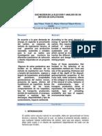 Parxmetros Que Inciden en La Eleccixn y Anxlisis de Un Mxtodo de Explotacixn (1)