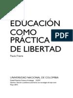 Análisis Libro Paulo Freire - Daniel Mauricio Fonseca