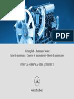 Maintenance Booklet Series 457 Tier2