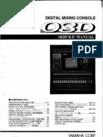 Yamaha 03d Service manual