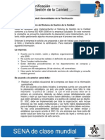 Actividad de Aprendizaje unidad 1 Generalidades de la Planificación Danilo Campuzano
