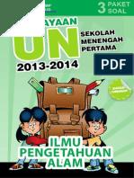 Materi Pengayaan UN Ilmu Pengetahuan Alam SMP MTs 2014