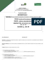 Plan de Clase de Matematicas II Del 24 Al 27 de Febrero 2014