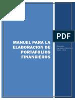 Manual Para Elaboracion de Portafolios Financieros[1]