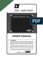 Crate Gx-60c Amp 2 - 10 Inch