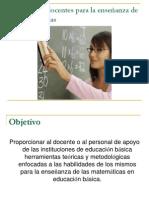 HABILIDADES DOCENTES PARA LA ENSEÑANZA DE LAS MATEMÁTICAS 20 (2).ppt