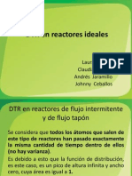 DTR en Reactores Ideales.1