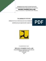 Feasibility Study Bidang sumber daya air Dinas PU dan Tata Ruang Kab. Konawe