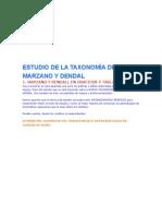ESTUDIO DE LA TAXONOMÍA DE MAR Y DENDAL
